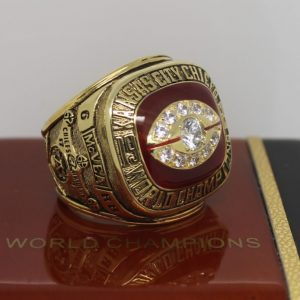 1969 Super Bowl Iv Kansas City Chiefs Championship Ring