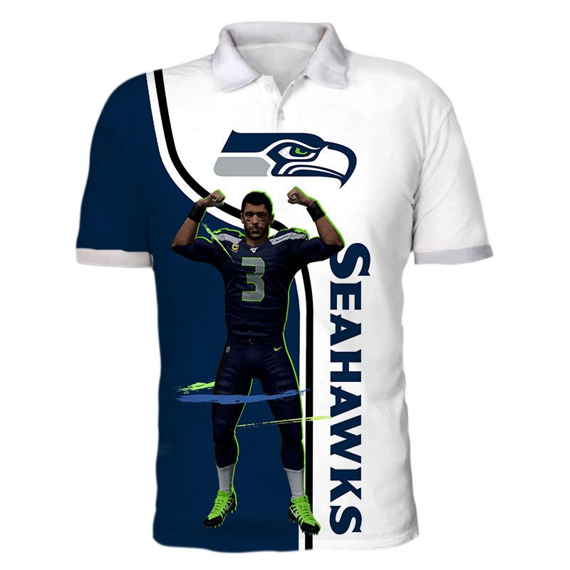 3 Russell Wilson Seattle Seahawks Sport Fantasic