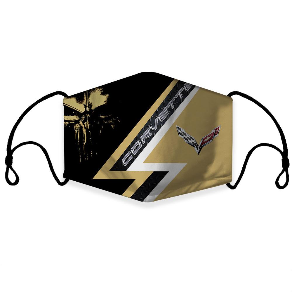 Corvette 3d Face Mask Limited Edition Sport Fantasic