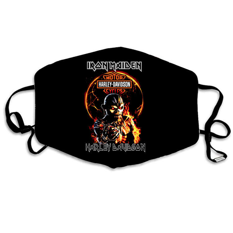 Iron Maiden Face Safety Protection Sport Fantasic