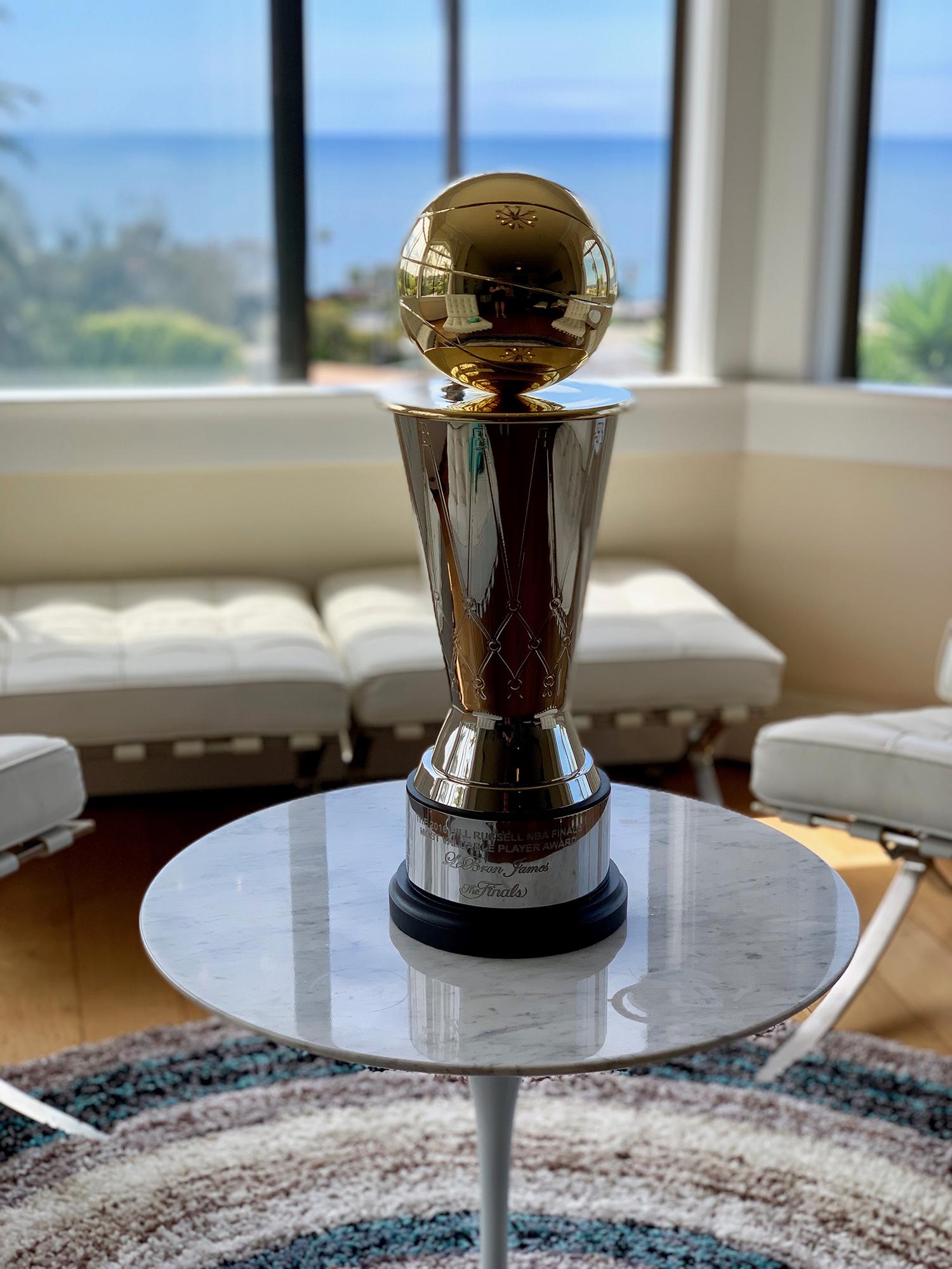 Replica NBA Finals MVP Award Trophy - Sport Fantasic