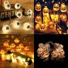1.5m 10Led Halloween Pumpkin Ghost Skeletons Bat Spider Led Light String Festival Bar Home Party Decor Halloween Ornament